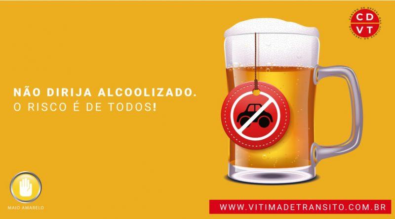 Não dirija alcoolizado